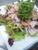 三河豚冷しゃぶとパリパリ大根のサラダ 生姜醤油風味