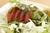 カプレーゼ風トマトとモッツァレラチーズのサラダ