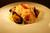 小エビとムール貝のペペロンチーノスパゲッティ