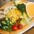 えびと夏野菜のコブサラダ