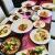 本日の前菜・スープ・ローストビーフ・上記のメインディッシュより2品・ライスorパン・デザート3種盛・ドリンク