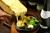 彩り野菜とベーコンのあつあつラクレットチーズ