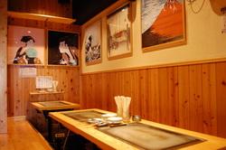 厨房・和風・鉄板・浮世絵の世界