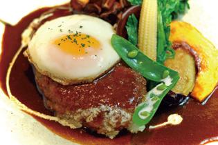 ハンバーグ&欧風家庭料理 ラ・フェリィチェ。