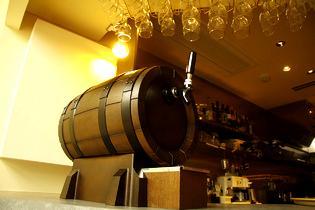 スパークリングワインの木樽!!