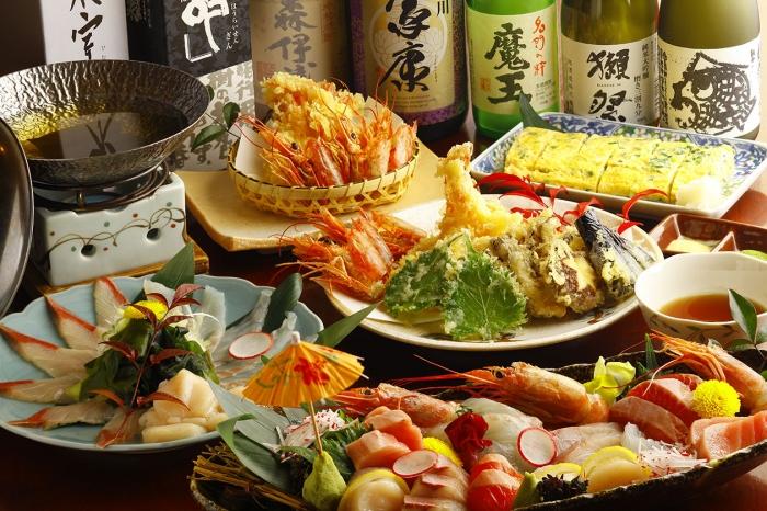 天ぷら・鮮魚ダイニング 秘密基地