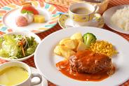 じゅのーディナーコ−ス  スープ〜デザート全6品