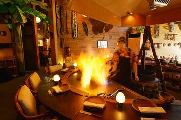 岡崎 南国リゾート風の店内でステーキ&シーフードを ジャム