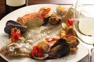 三河湾の新鮮な魚介類を よりお楽しみいただくための ワインもご紹介します。