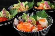 海鮮丼いろいろ