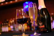 ワインが気軽に楽しめ、 その他のドリンクも豊富!