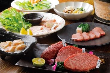 西尾 ディナーは焼き肉を堪能 七輪焼肉 楽しいら