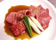 「特選和牛のすき焼きしゃぶ」1,680円(税別)