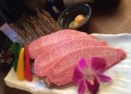 「特撰和牛の炙り焼きしゃぶ」 1,480円(税別)