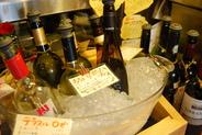 プリュスのフリードリンク。 ¥1,600(90分)~ワイン、サングリア、果実酒、日本酒まで飲めちゃう。約100種類♪ノンアルコールカクテルも沢山の充実のフリードリンク!