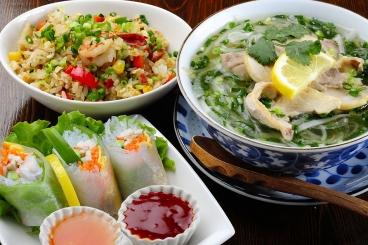 本格エスニック(インド&ベトナム)料理を スバカマナ 岡崎店
