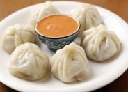 ネパール餃子は現地でよく食べられる料理<モモ>