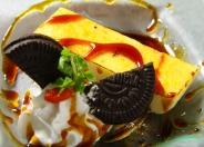 濃厚な味わいの冷製デザート「ヨーロッパ産まれのカタラーナ」