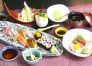 夜のおもてなし「花」4,000円(税別)。食事会・宴会にオススメ