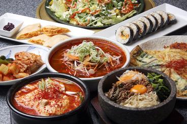本場韓国料理と、美味しい焼肉が楽しめるよ