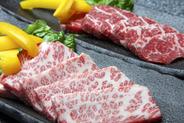 特選和牛など一級品のお肉も勢ぞろい