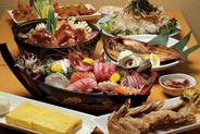 コース料理5,000円(飲み放題付き)<写真はイメージ>