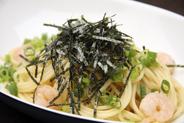 エビと小松菜の和風パスタ 800円