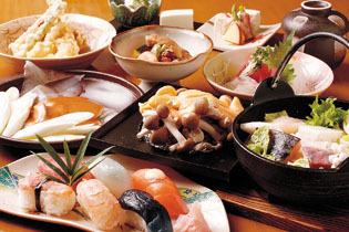 岡崎 鍋、会席、コースも充実 寿司・和食 すぎの木