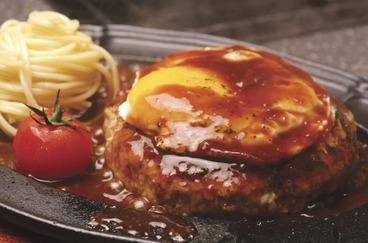 ジューシーなハンバーグステーキも大人気☆
