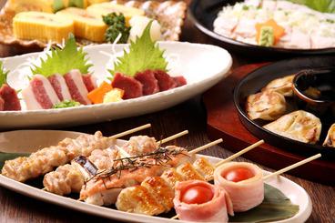 串焼きや博多の名物料理が目白押し!