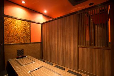 最大で18名までの完全個室としてのご利用可能 プライベートな宴会には最適となっております