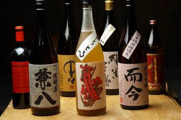 ドリンクも豊富に揃う プレミア焼酎やプレミア日本酒も!