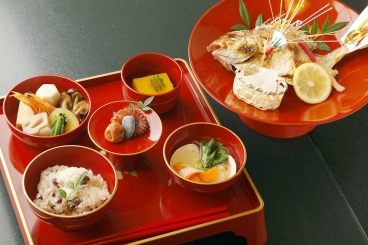 「お食い初め膳」2,500円(税別) *写真はイメージです