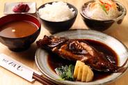 煮魚定食 750円〜