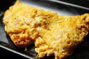 キムチを玉子でとじたピリ辛料理『キム玉』