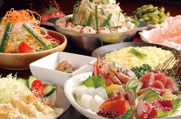 新鮮な食材を使用した炉ばた料理がずらり! 宴会料理は2,500円〜(税込)