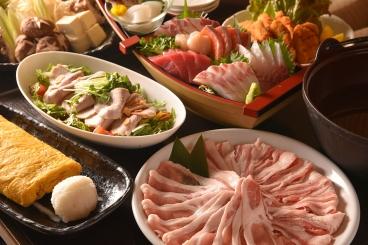 地元愛知(田原)の肉「保美豚コース」飲み放題付6,000円 ※仕入れによりコース内容が変更になる場合があります
