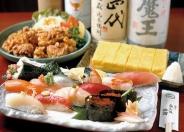 寿司から居酒屋メニューまで、幅広く愛される和食が充実♪