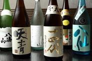 日本酒の品揃えには自信あり!