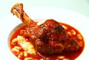 羊スネ肉のトマト煮
