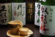 プレミアムなお酒もたくさん♪大将オススメの宮崎芋焼酎も要チェック!
