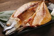 関の鯖の干物