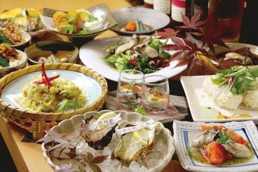 満腹カキコース(要予約)