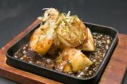 鉄板!山芋ステーキ 濃厚なステーキソースと歯切れのいい山芋のハーモニーは絶品!