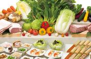 食べ放題はお席でご注文頂き、お席までお届け致しますのでゆっくりと会話も中断することなくお楽しみ頂けます。 温野菜は食べ放題でもクオリティは最高です☆