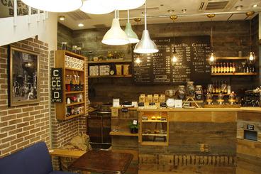気軽に立ち寄れる小さなカフェ