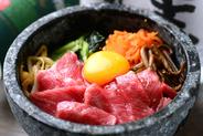 お肉によく合う美味しいご飯物も豊富