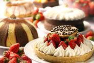 ケーキはテイクアウトもできるよ!