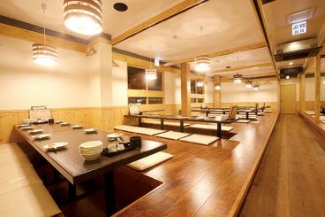 最大72名様まで収容可能な宴会スペースも完備