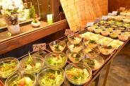 ランチ小鉢ビュッフェ ※サラダ3種・副菜5種以上・漬物・白飯・日替飯・味噌汁・日替スープ・デザート